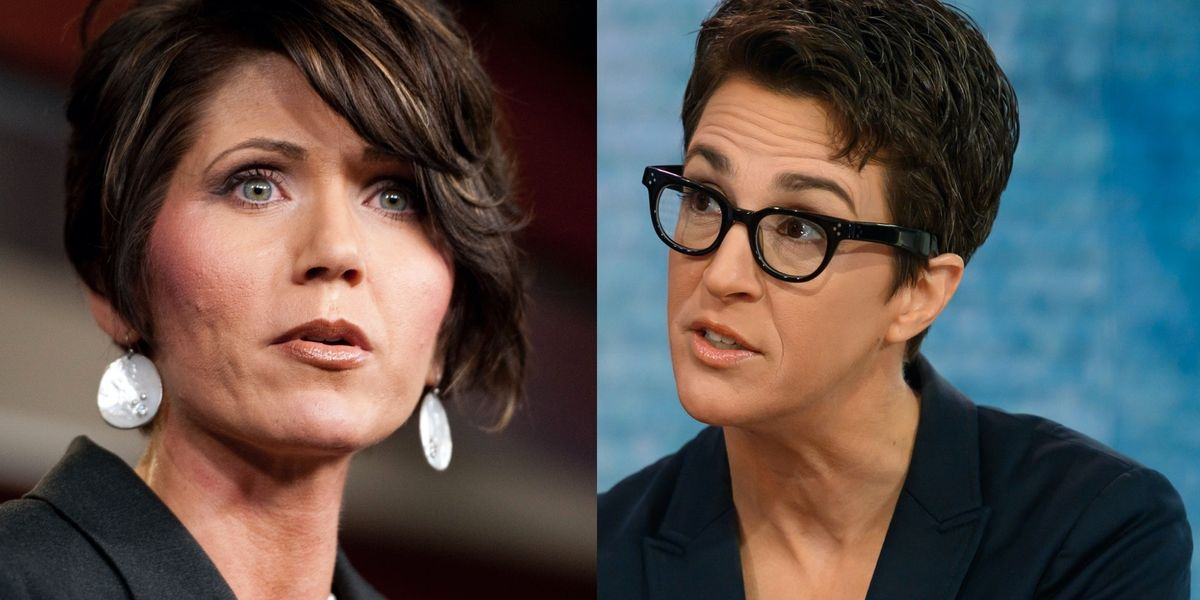 'Stop spreading fear': Kristi Noem slaps down Rachel Maddow over social distancing hunting video