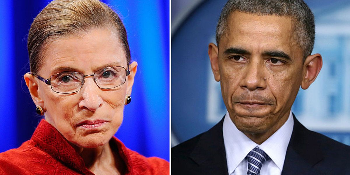 Report: Obama once tried to persuade Ginsburg to retire before crucial election, but she refused