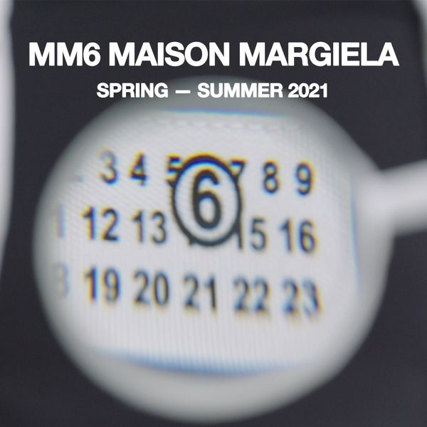 Watch the MM6 Maison Margiela Spring 2021 Digital Show Live