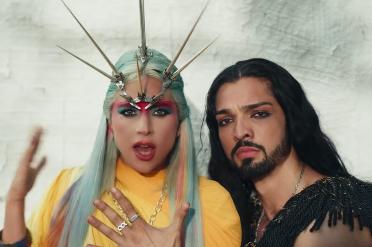 The Star of Lady Gaga's '911' Video Is No Hallucination