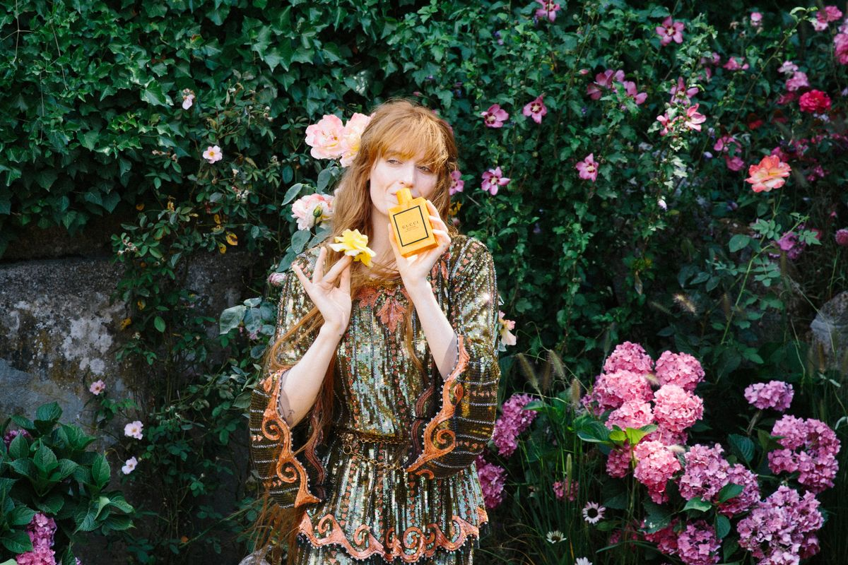 Florence Welch on Gucci, Creativity and Her New Fragrance Campaign
