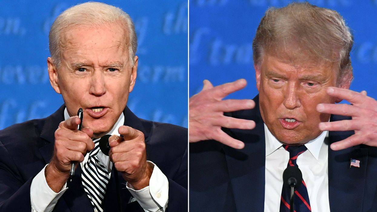 Trump backs Biden into a corner on Green New Deal and the far left is gnashing its teeth over what he said