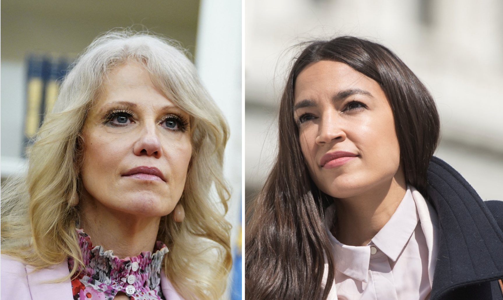 AOC Perfectly Shamed Kellyanne for Trying to Drag Biden for Not Supporting the Green New Deal During Debate