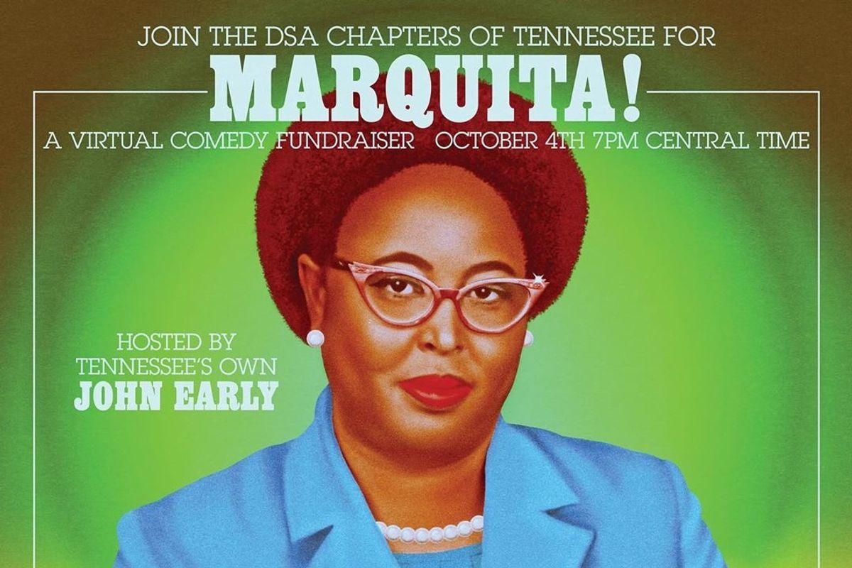 Livestream This: Marquita! A Virtual Comedy Fundraiser
