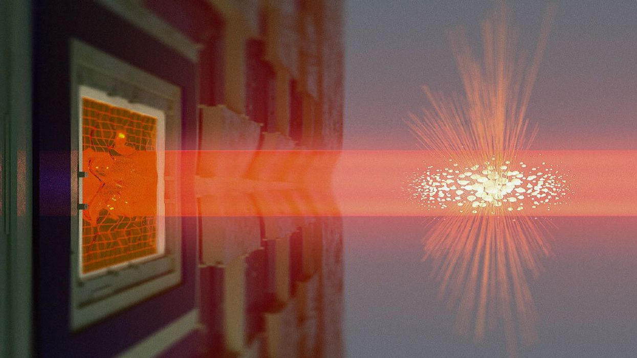 In quantum entanglement first, scientists link distant large objects