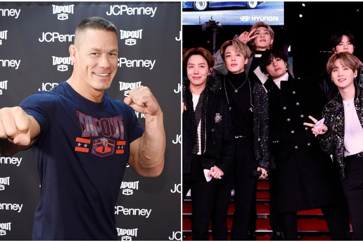 John Cena: BTS Is 'Changing the World'
