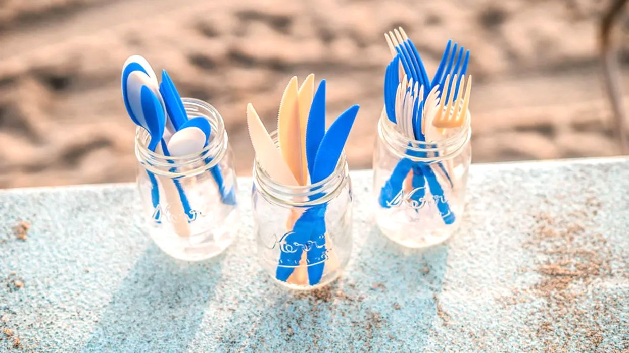 Biodegradable, Carbon-Negative Straws and Cutlery Could Help Stop Plastic Pollution
