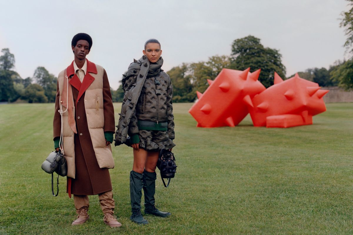 Moncler's JW Anderson Collection Is a Trippy Puffer Paradise