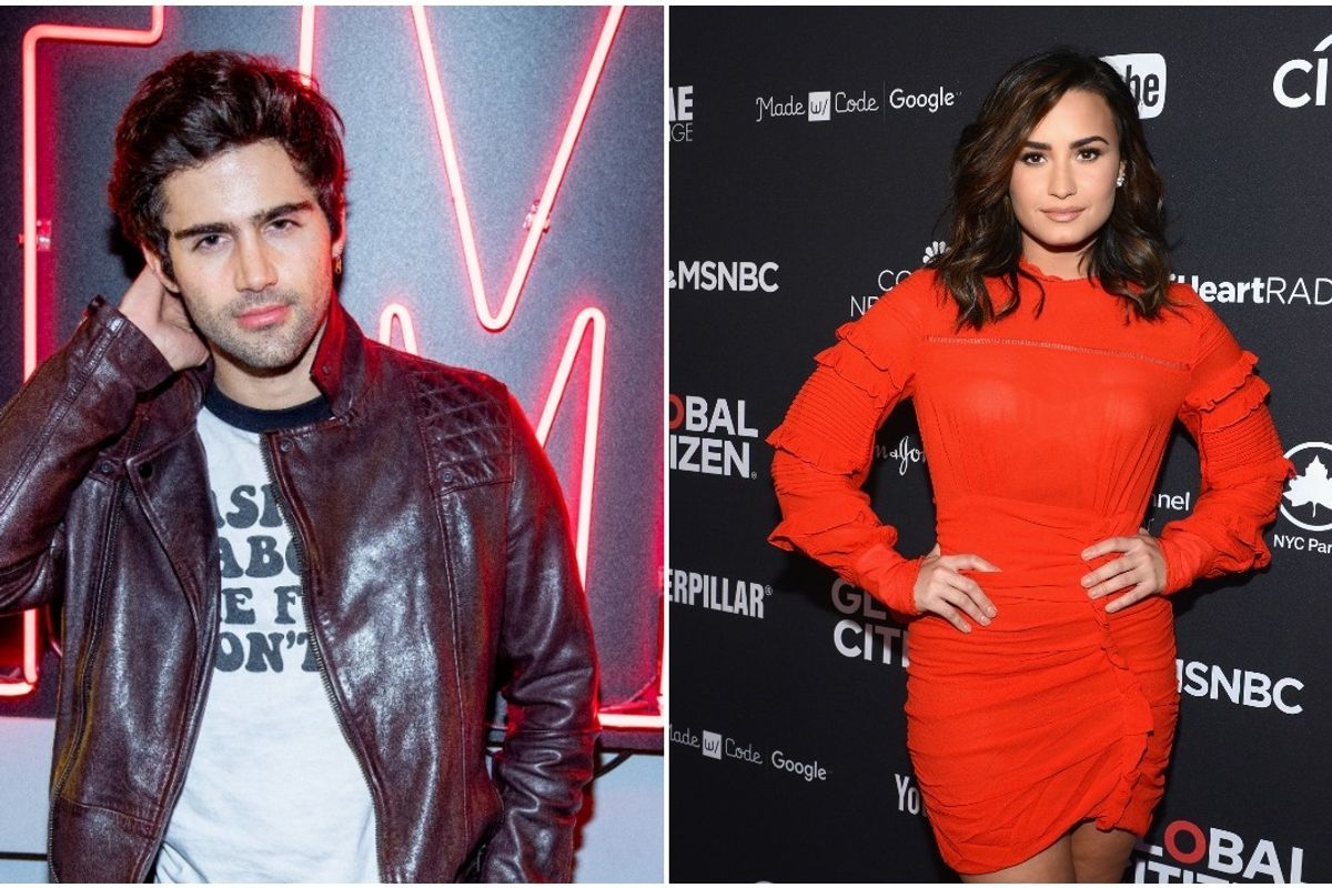 Max Ehrich Accuses Demi Lovato of 'Using' Him For a 'PR Stunt'