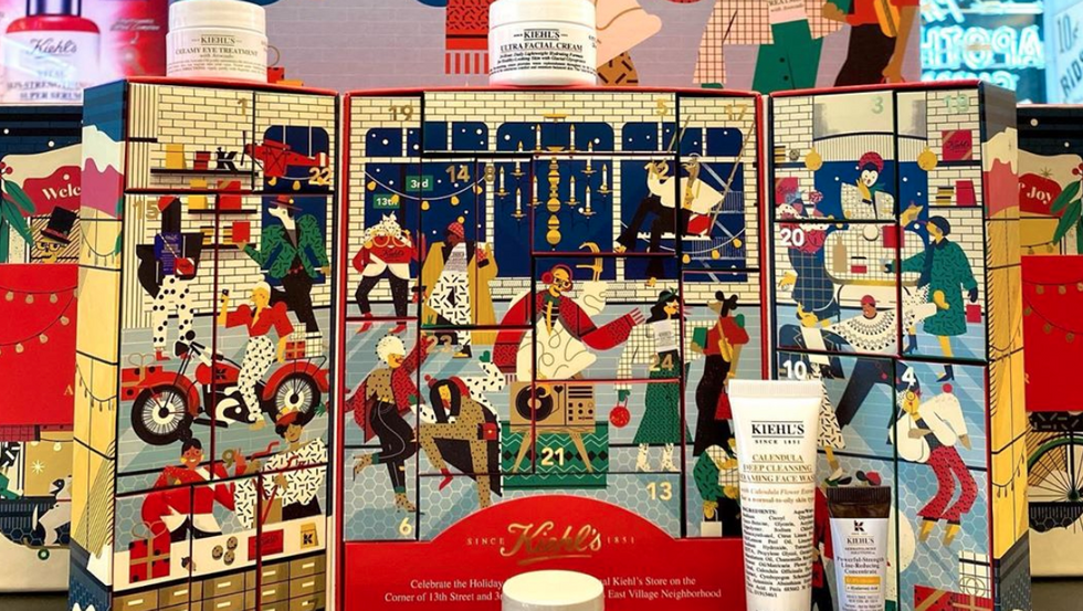 Kiehl's Skincare Advent Calendar Sells Out Every Year — Here's Why It's THE Beauty Gift Of The Season