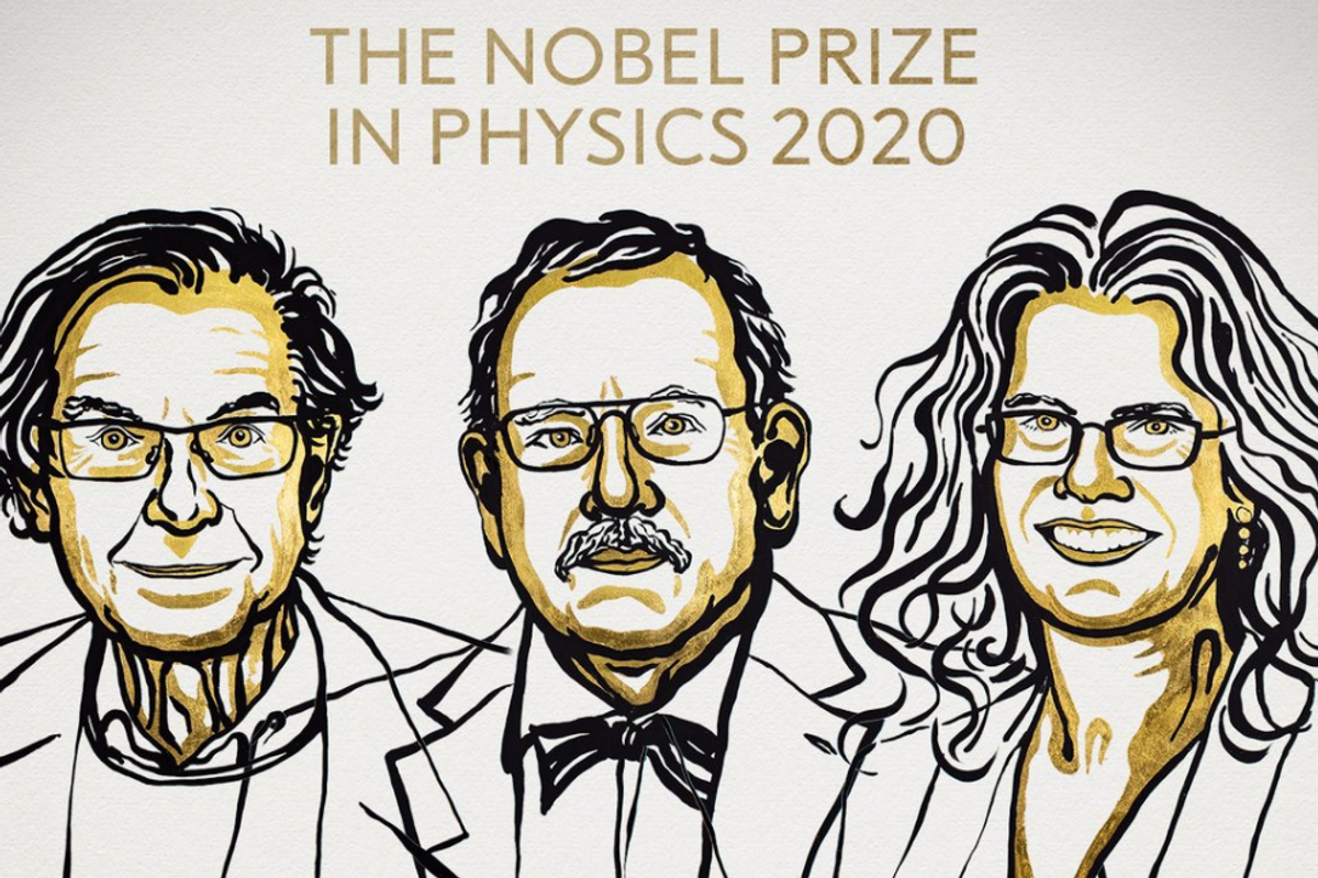 Nobel Prize in Physics awarded to 3 scientists for black hole discoveries