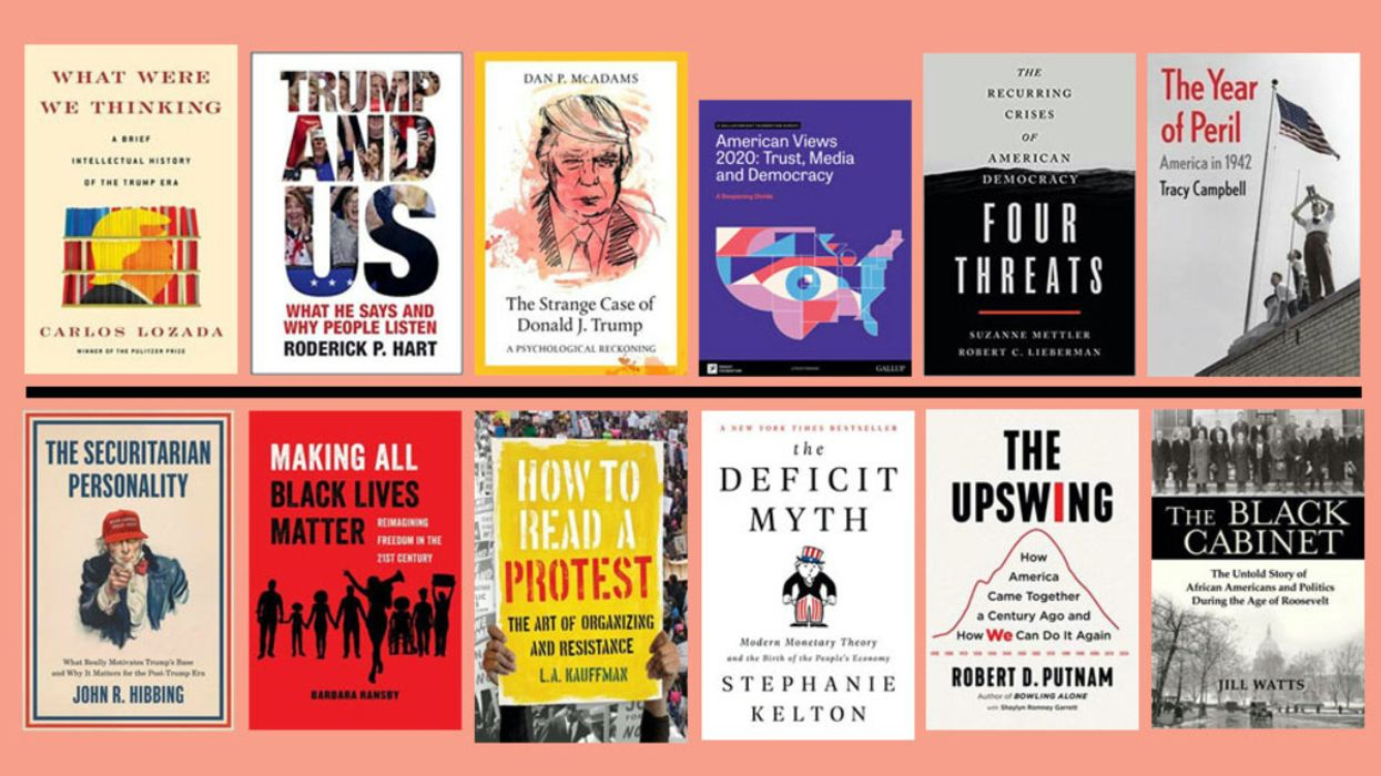 These 12 Books Surrounding Election Add Perspective to Climate Crisis