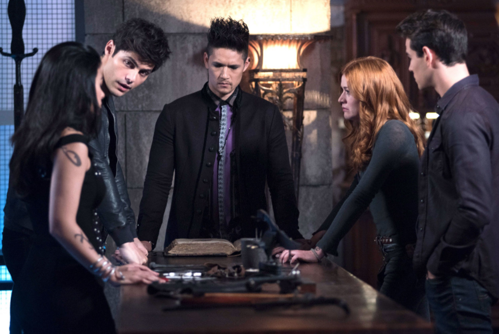 Shadowhunters TV show cast