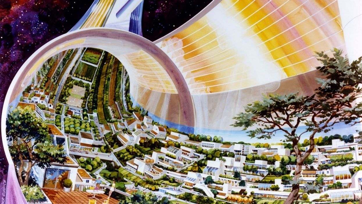 Urban planning in space: 3 off-world designs for future cities