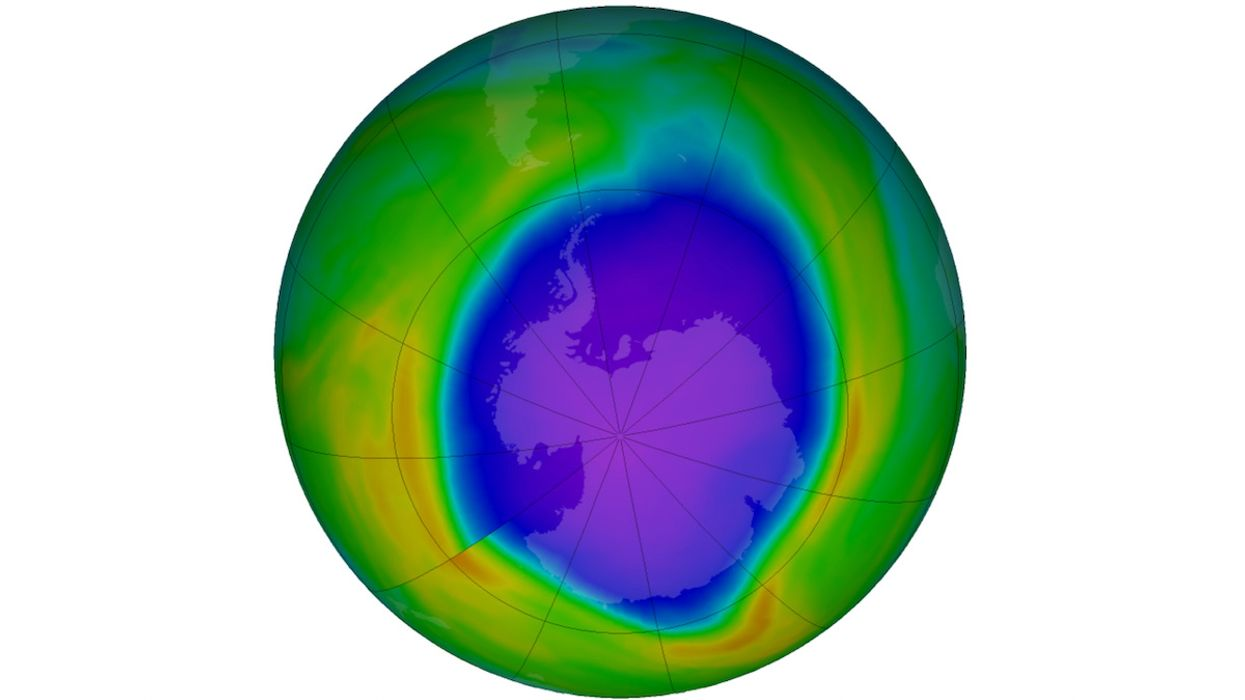 Ozone Hole Over Antarctica Is One of the Biggest in 15 Years