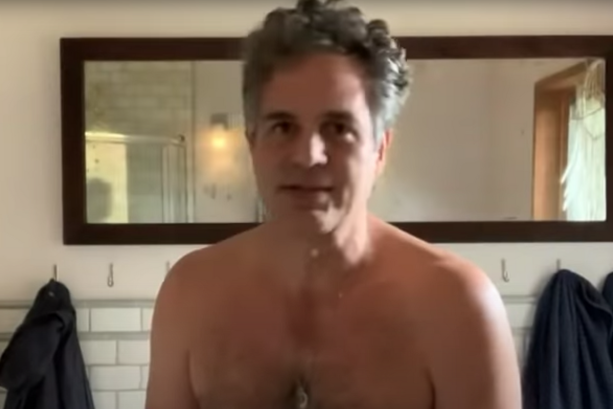 Please Enjoy Mark Ruffalo's Naked Body