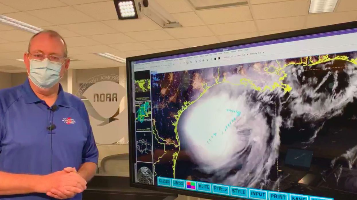 Hurricane Delta's Rapid Intensification Is Fueled by Climate Change