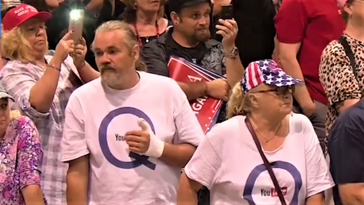 'We really are the cucks': QAnon adrift after Trump 'fails to ascend as God Emperor'
