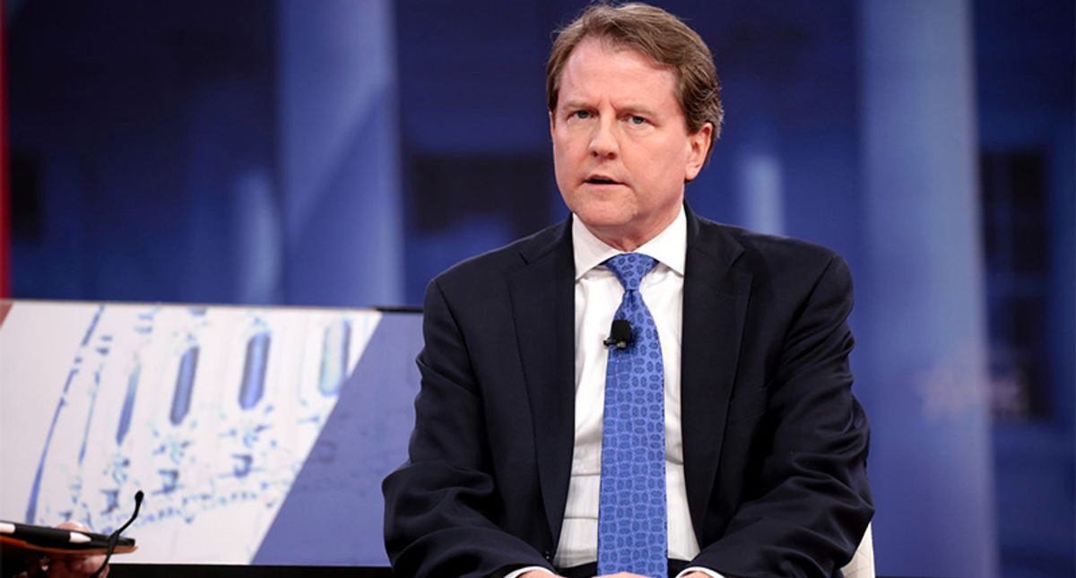 House Judiciary Committee reissues subpoena for former White House counsel Don McGahn
