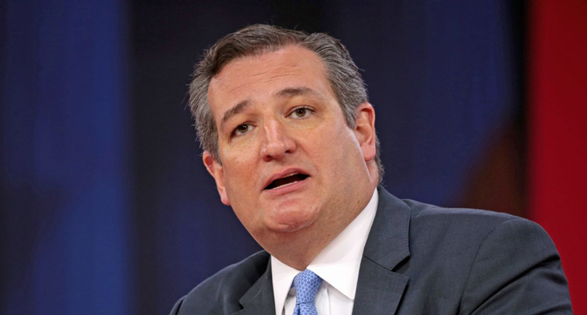 'Cry us a Mai Tai': Top Texas newspaper demands Ted Cruz's resignation over Cancun trip