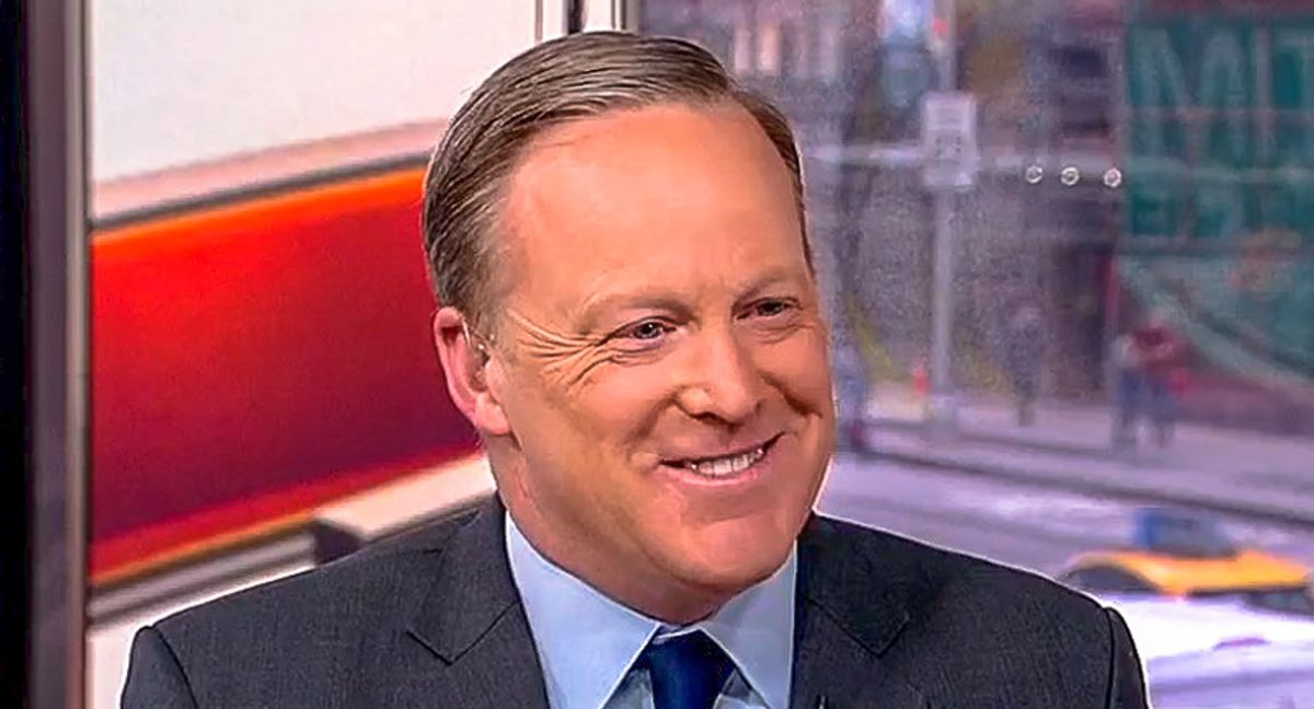 Newsmax withdraws Sean Spicer's application to cover White House briefings