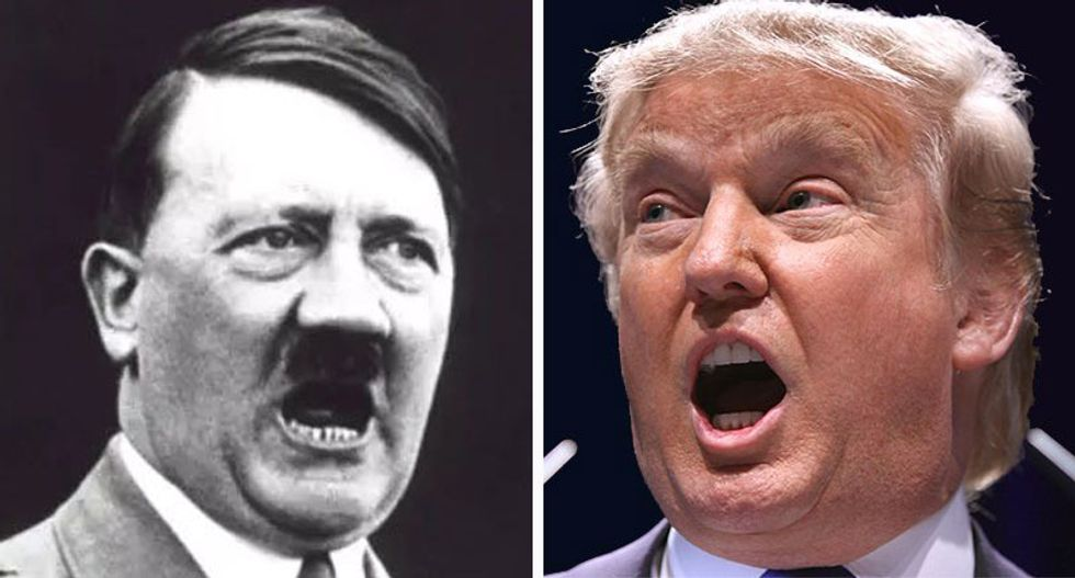 Trump's narrative his power has been 'stolen' echoes the rise of the Nazis: columnist