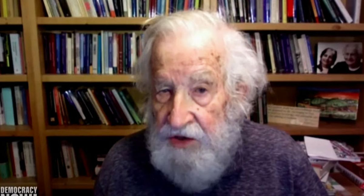 Noam Chomsky slams 'liberal American intellectuals' for refusing to admit US is a 'leading terrorist state'