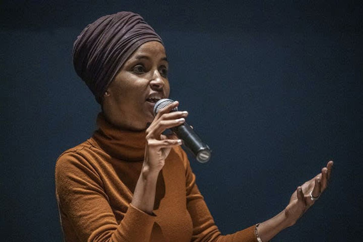 Ilhan Omar warns progressives will revolt if Dems 'poison' relief bill by curbing eligibility for $1,400 checks