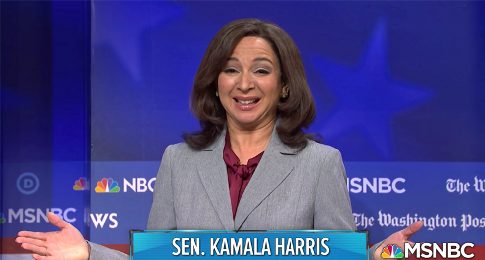 'It's Maya Rudolph's time to shine': Twitter can't wait for SNL's portrayal of VP candidate Kamala Harris