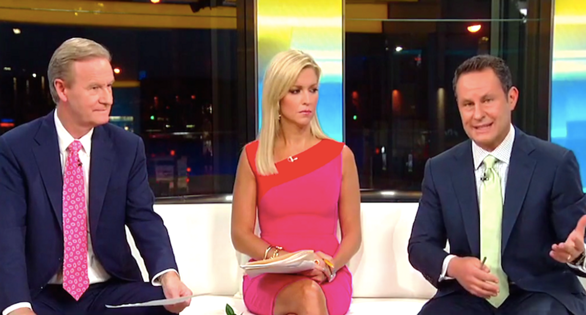 Fox & Friends hosts squabble over Mitch McConnell turning on Trump: 'Let the president go and move on!'