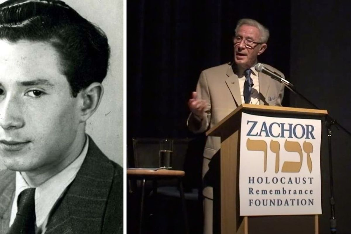 91-yr-old Holocaust survivor has created a one-of-a-kind, first-person Holocaust curriculum