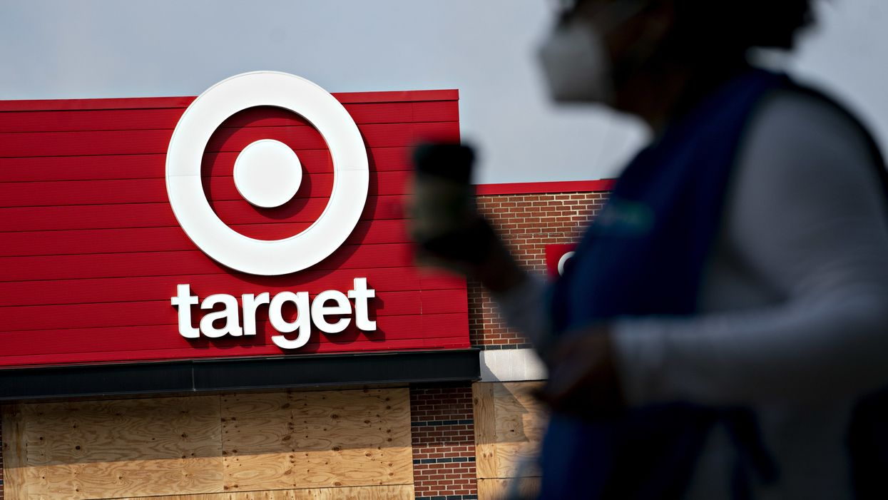 Anti-mask protesters converge on Target in viral video: 'We're not gonna take it!'