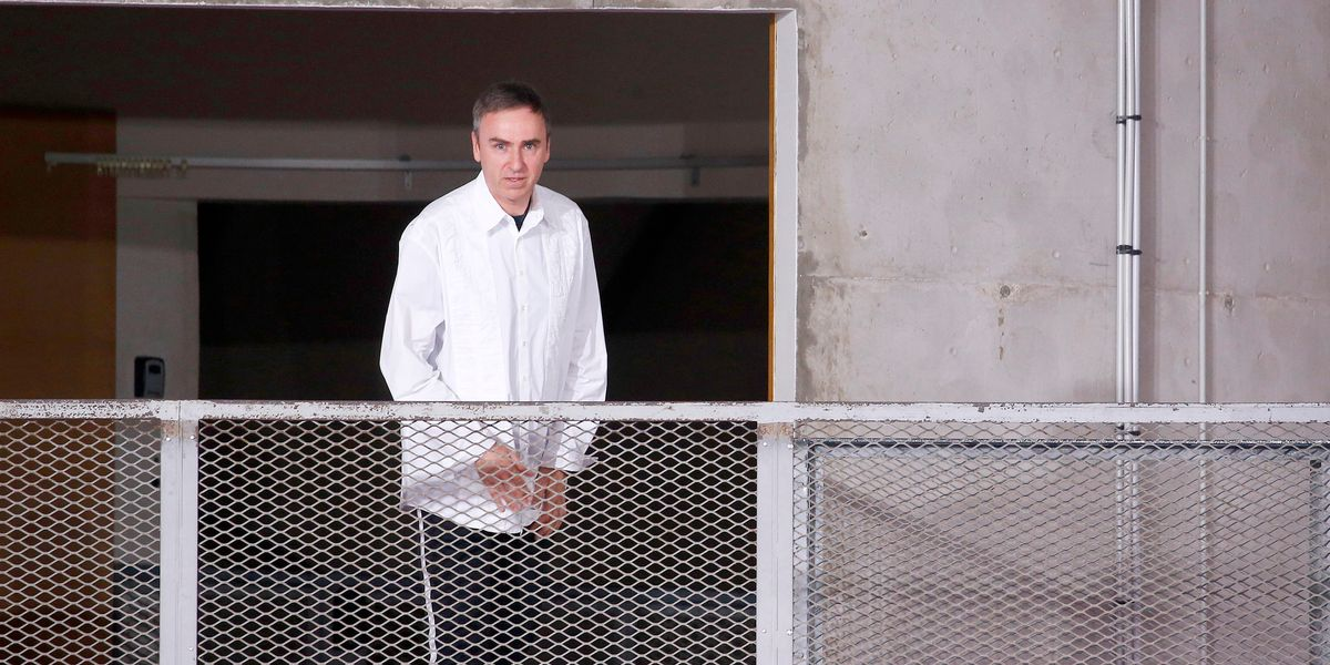 Get Your Wallets Ready Because Raf Simons Is Launching Womenswear