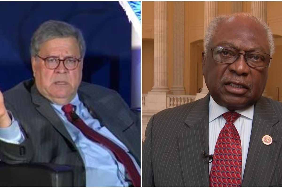 Rep. Jim Cyburn says it's 'God-awful' for Attorney General Barr to compare Covid lockdown to slavery