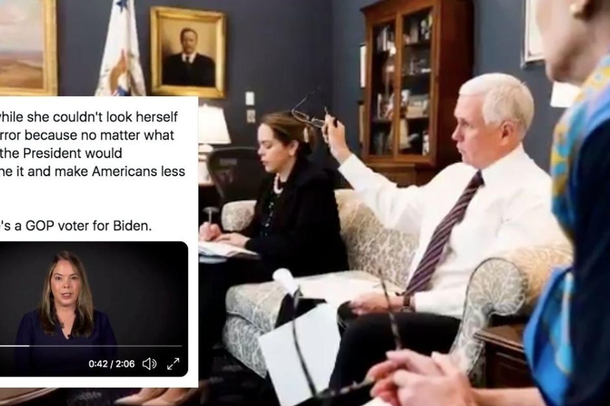 Pence's lead coronavirus task force aide just endorsed Joe Biden for president