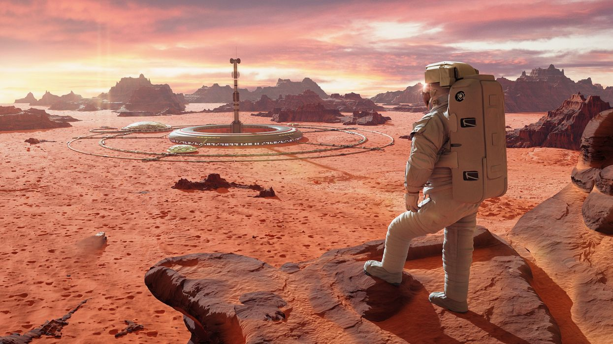 Tools for Mars are being developed in preparation for colonization
