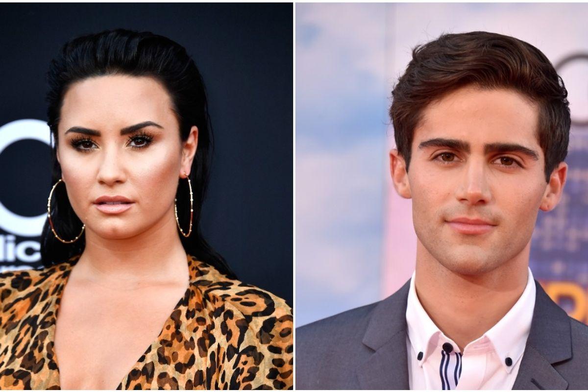 Max Ehrich Won't Leave Demi Lovato Alone