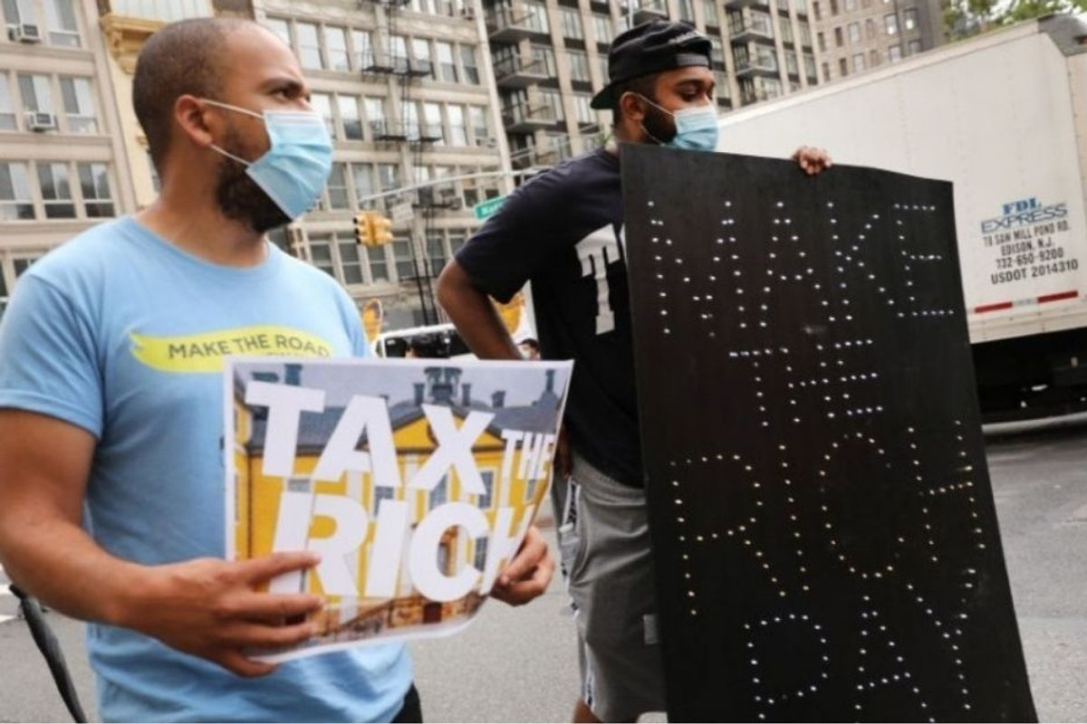 As New York prepares cuts, NYC millionaires are telling the governor to tax them more