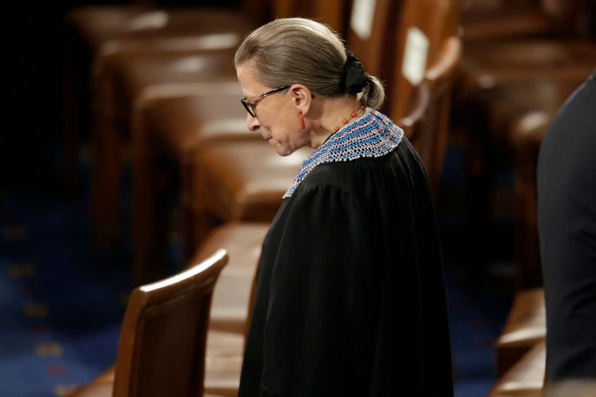 Ruth Bader Ginsburg helped shape women's rights even before she went on the Supreme Court