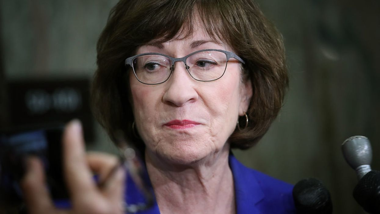 Republican Sen. Susan Collins breaks with party, says presidential election winner should make Supreme Court nomination