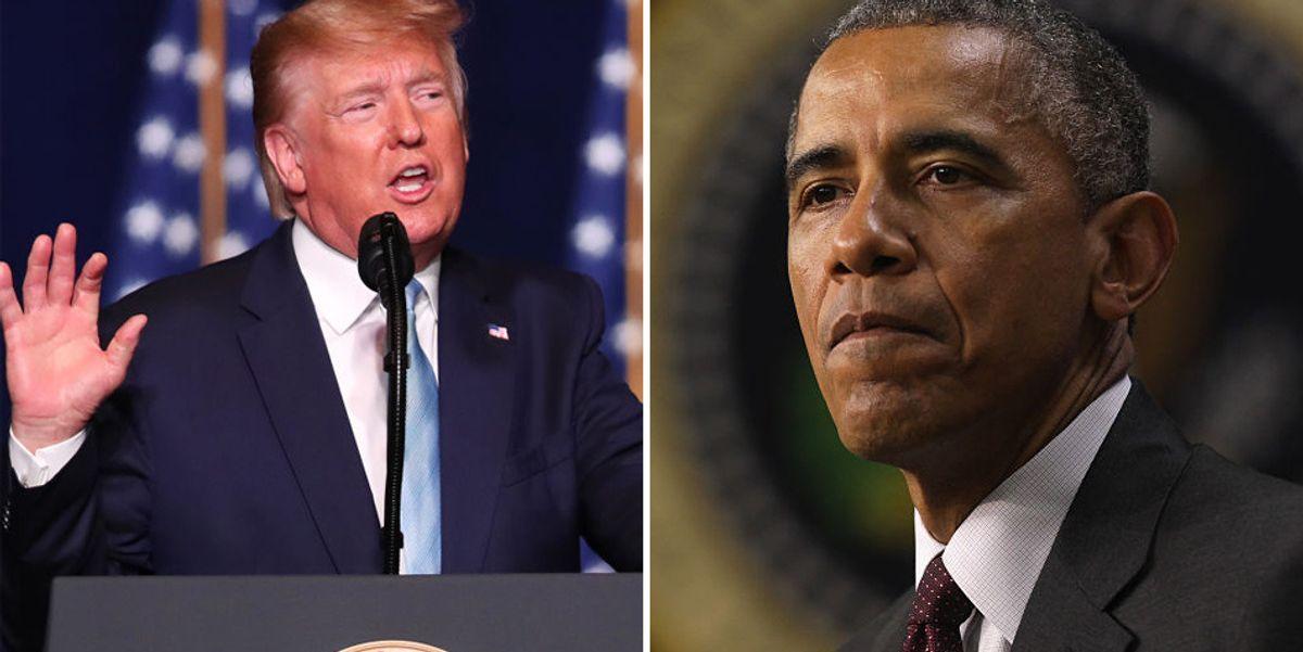 President Trump has biting response for Barack Obama over filing SCOTUS vacancy