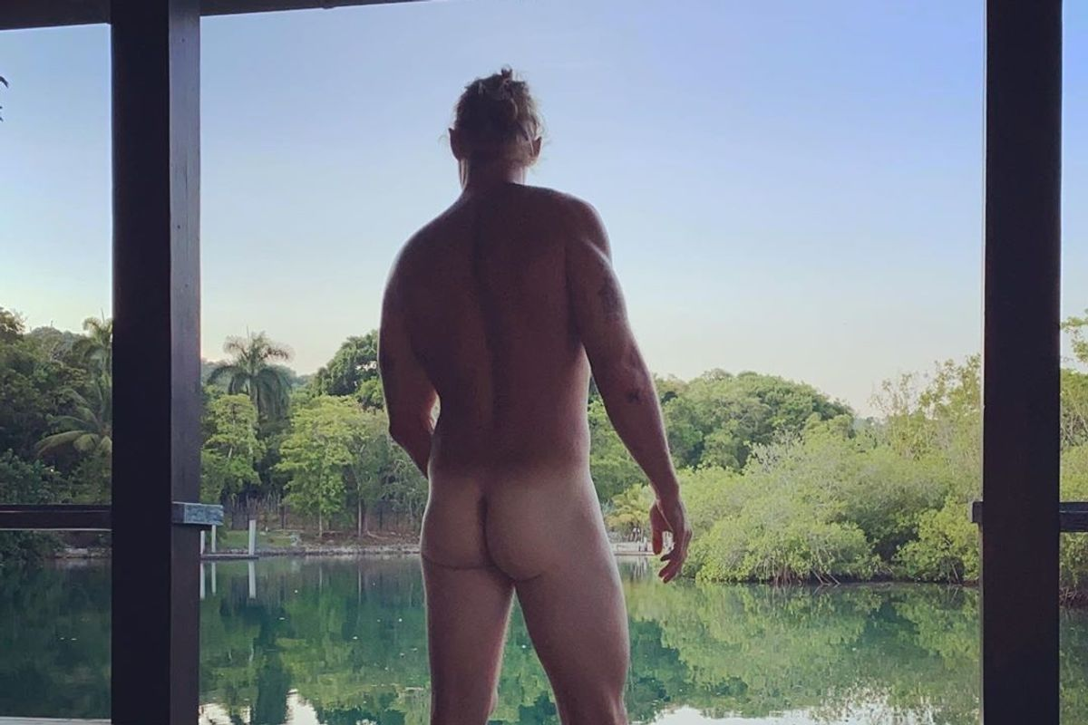 Nude Diplo Wants You to Vote