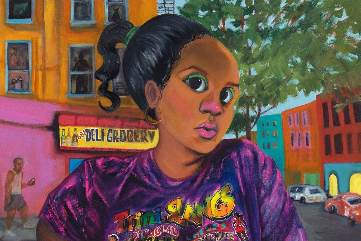 Cheyenne Julien's Paintings Explore Environmental Racism in NYC