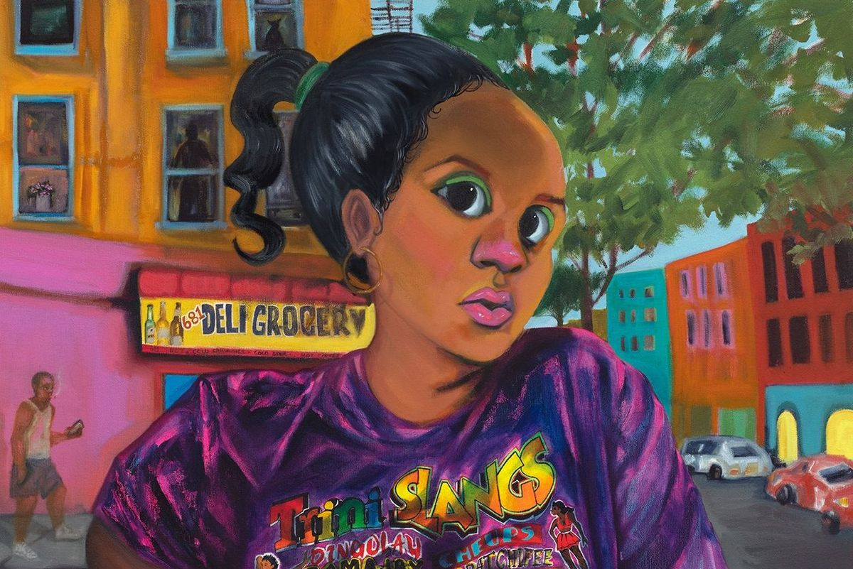 Cheyenne Julien's Paintings Explore Environmental Racism in NYC