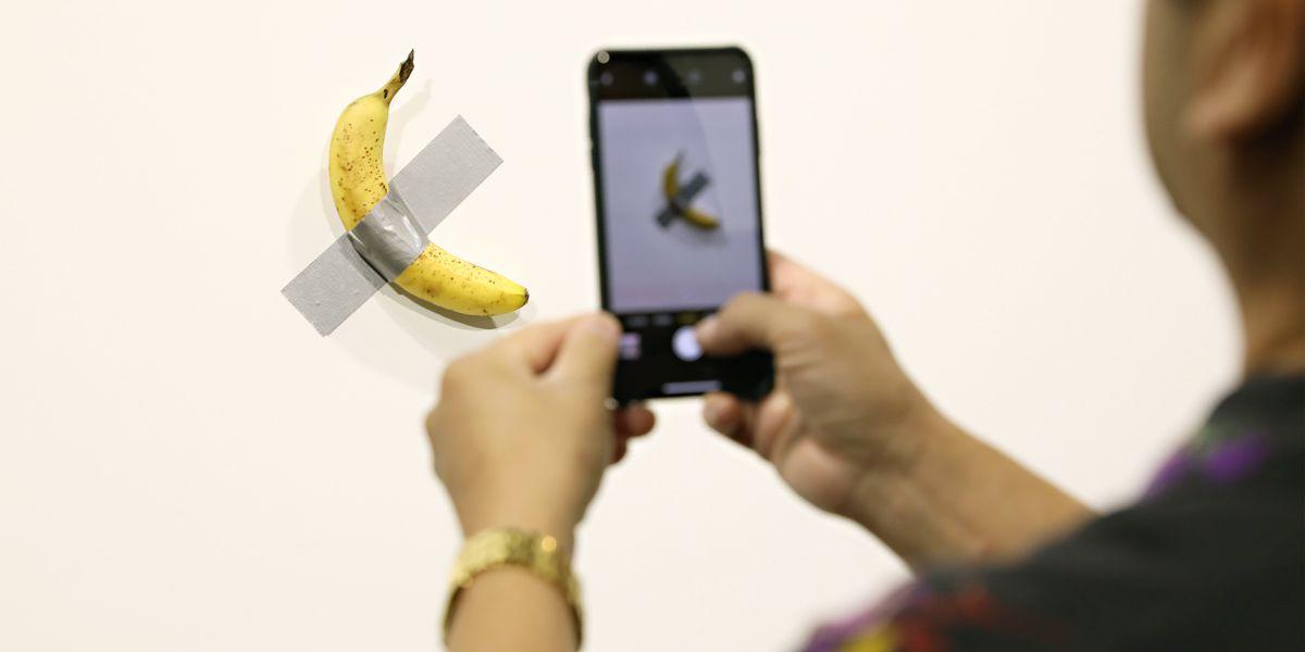 The Guggenheim Acquires the Art Basel Banana