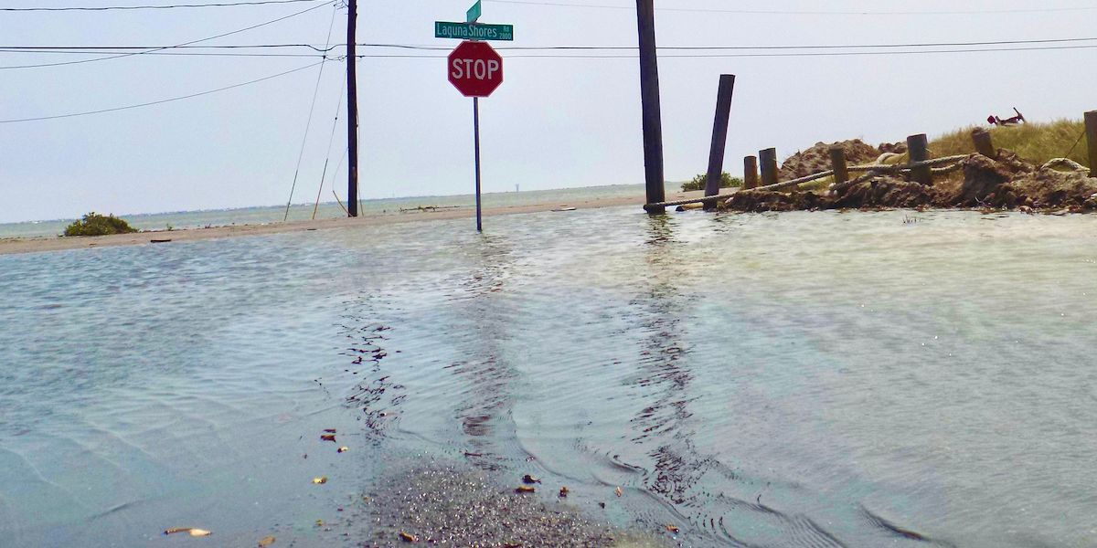 Tropical Storm Beta Makes Landfall in Texas, Drenching Storm-Weary Gulf Coast