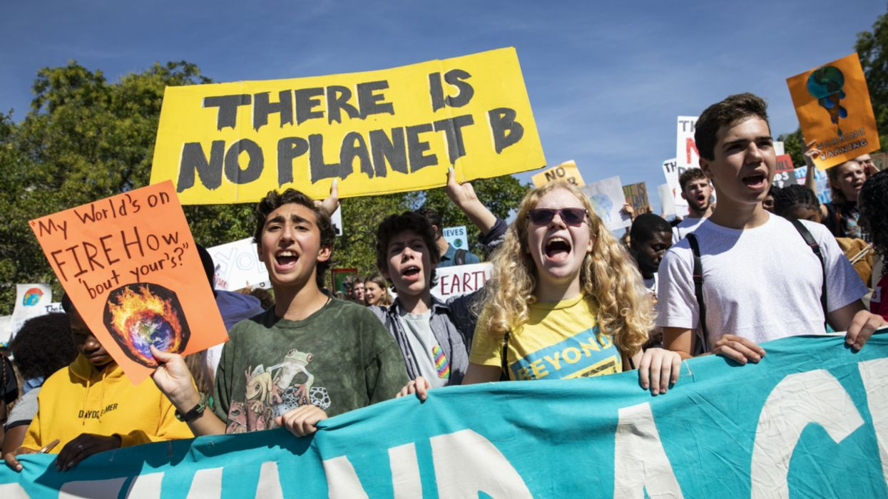 Student Climate Protesters Urge Their Universities to Go Carbon Neutral