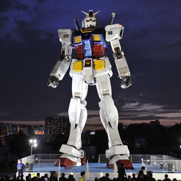 Meanwhile, Japan Has Built an Actual Gundam