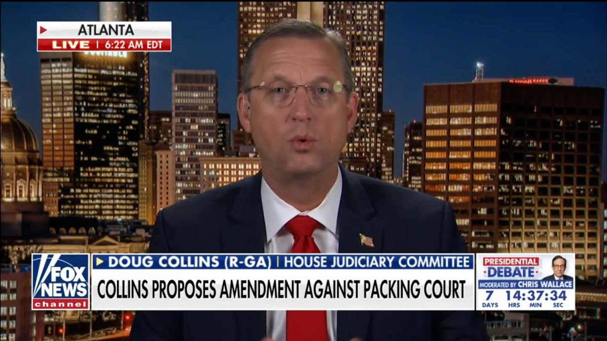 GOP Congressman to propose constitutional amendment on court packing he says will get Congress through this 'momentary temper tantrum'