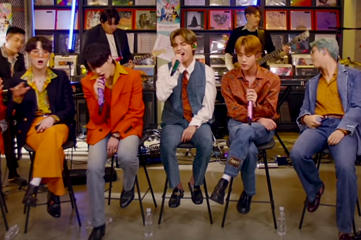 Watch BTS Perform 'Dynamite' in Tiny Desk Debut